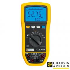 Multímetro digital TRMS AC+DC Doble CA5275 Display 6.000 cuentas