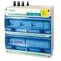 Cuadro de protección contra sobretensiones transitorias en sistemas fotovoltaicos ECO-DC-INV-AC