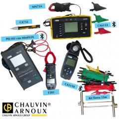 KIT Reglamento Electrotécnico de Baja Tensión Chauvin Arnoux