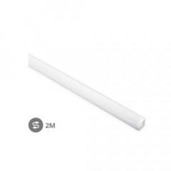 Perfil aluminio ángulo translucido 2M Tiras LED