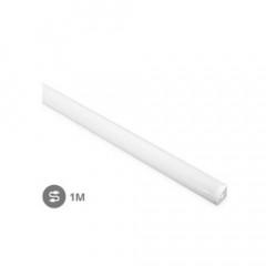Perfil aluminio ángulo translucido 1M