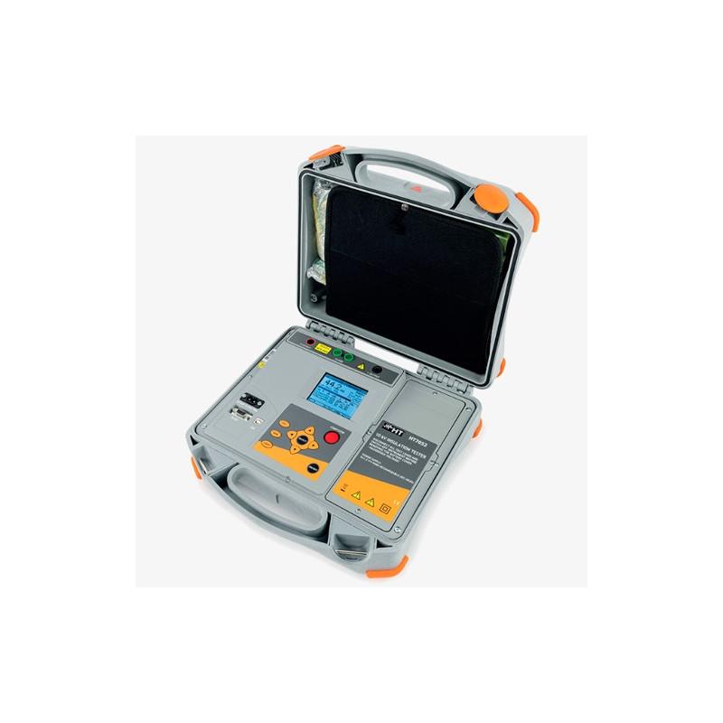 HT7052 Medidor de Aislamiento profesional con tensión de prueba hasta 10 kVCC