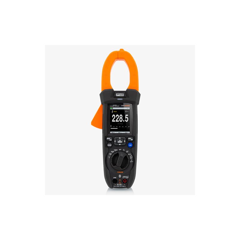 HT9025 TRMS Pinza Amperimétrica TRMS Con Registrador y Lectura 1500V CC Especial Paneles Fotovoltaicos