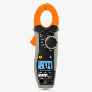HT4013 Pinza amperimétrica 400A CC/CA CAT III 600V