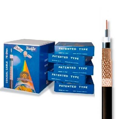 Cable Coaxial Bieffe Cobre-Cobre Categoria 833R