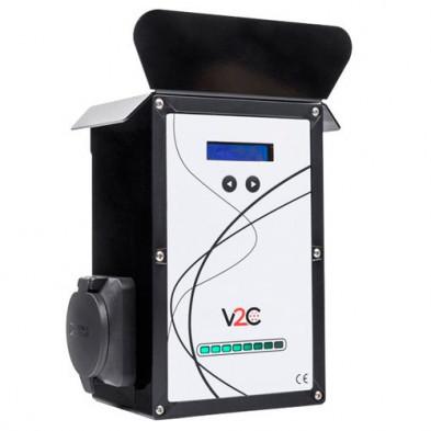 Cargador Vehiculo Eléctrico UP WALLBOX V2C SOCKET 32 AMPERIOS IEC 62196