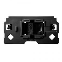 Conector informático RJ45 AMP® de categoría 6 UTP con adaptador Simon 100