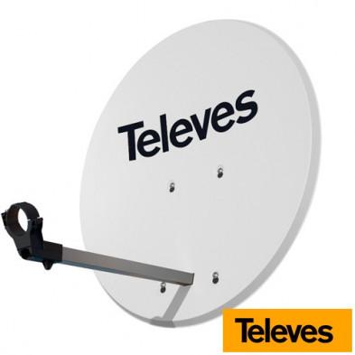 Antena Parabólica de aluminio ISD 830 Televes 83x75cm
