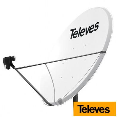 Antena Parabólica de aluminio 1300 141x130 cm