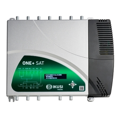 Central de amplificación programable digital ONE+ SAT IKUSI 2864