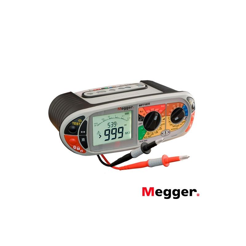 Comprobador Multifunción MFT1835 250/500 V