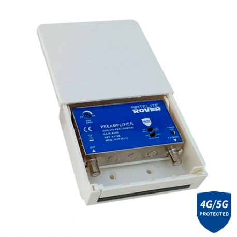 Amplificador de mástil LTE Satélite Rover 81176