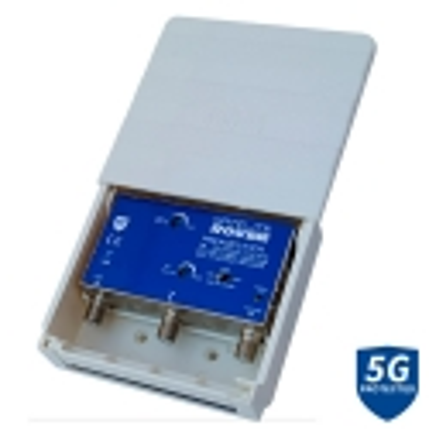 Preamplificador Serie RVF 205/U 2E FM-UHF 40 LTE 700 81189