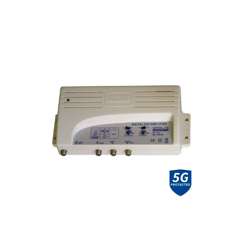 Central Amplificadora Banda Ancha RDS-602 LTE 47-790Mhz SAT 950-2150Mhz