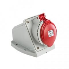 Base CETAC INCLINADA 32A 380/415 3P+T IP44 IDE