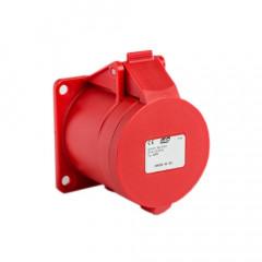 Base CETAC RECTA 32A 380/415 3P+T IP44 IDE