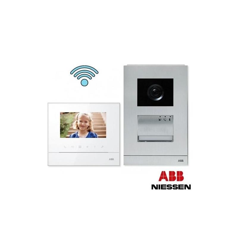Kit Videoportero Welcome Niessen ABB W2821.12 WiFi