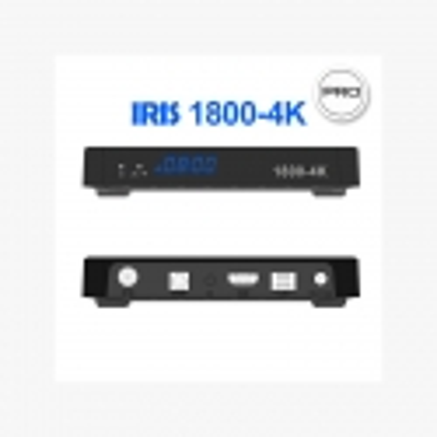 Receptor Satélite Iris 1800 4K pro Android