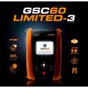 GSC60 LIMITED 3 Instrumento Multifunción Verificador Seguridad Eléctrica y Análisis de Redes