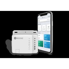 Control de termostato WiFi Aidoo de Airzone para aires acondicionados Daikin, Mitshubishi, LG, Samsung...