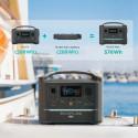Central Eléctrica Portátil EcoFlow River Max Batería 576Wh Recargable
