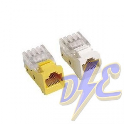 Conector RJ45 UTP CAT6 Hembra auto-crimplable