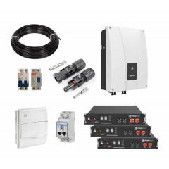 Kit Baterías+Inversor Anti-Tarificación Horaria Bajo Voltaje