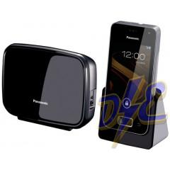 Panasonic KX-PRX110SPW - Teléfono fijo digital con funciones Smart, negro