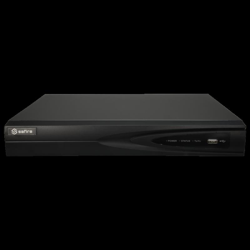 Videograbador 5n1 Safire H.265Pro+ 8CH+2IP SF-XVR6108-1FACE