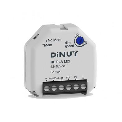 Regulador universal para tiras LED monocolor 12-48VCC Dinuy RE PLA LE2