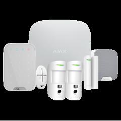 Kit alarma inalámbrica Grado 2 AJAX con 2 cámaras 2G y contacto magnético