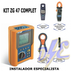 Kit ZG47 Complet - Instalador profesional