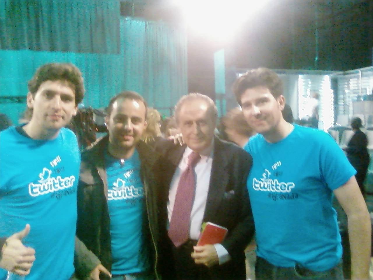 Jaime Peñafiel con nosotros