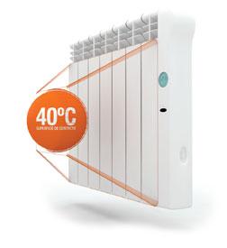 Calefacci n digital de bajo consumo rointe - Sistemas de calefaccion bajo consumo ...