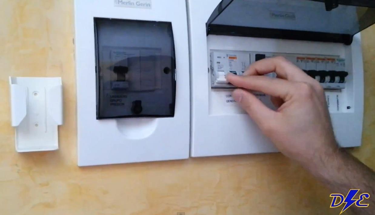 Funcionamiento del icp en contador de luz digital domo for Como montar un cuadro electrico