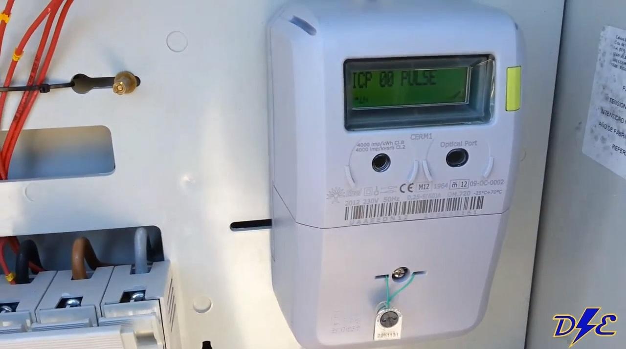 funcionamiento del icp en contador de luz digital domo