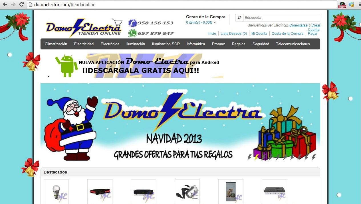 tienda online de confianza Domo Electra