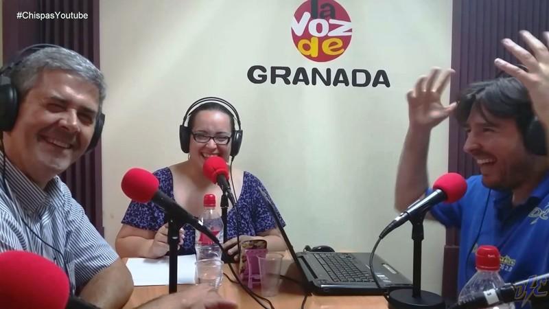 El Chispas de Youtube en Voz de Granada