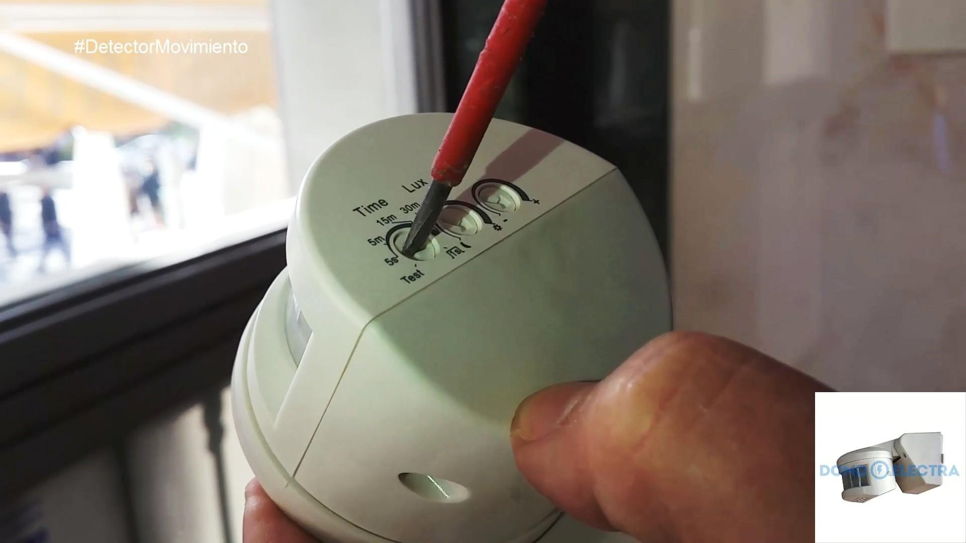 C mo instalar detector de movimiento domo electra - Detector de movimiento ...