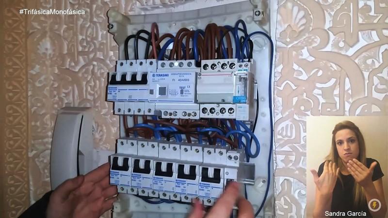 cambio de instalación eléctrica trifásica a monofásica