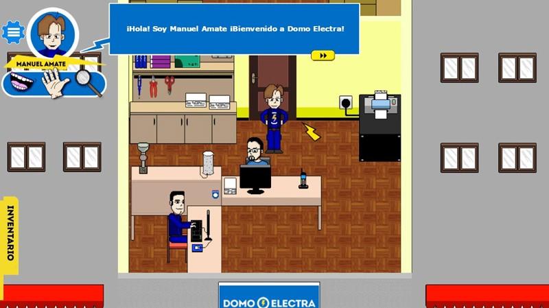 Juego de Domo Electra: oficina