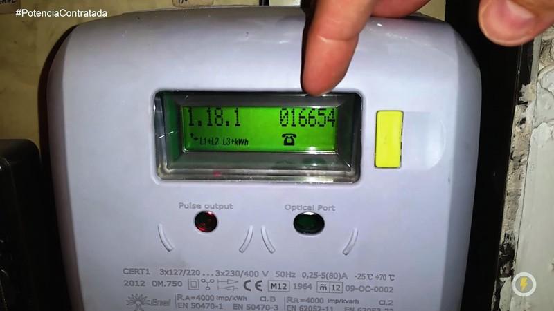C mo ajustar tu potencia contratada contador trif sico for Manipular contador luz digital