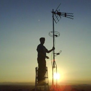 Domo Electra Antenistas Granada Orientar Parabolica Antena TDT