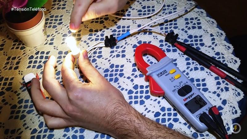 obtener_luz_del_telefono_tension_telefonica_linea_medidas_domo_electra_polimetro_manuel_amate