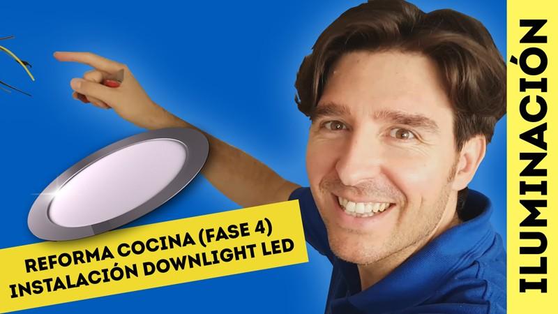 C mo instalar iluminaci n led para reforma cocina fase 4 - Downlight led cocina ...
