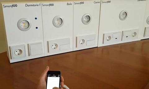 sistemas domotica domo electra instalar simon 100 abb tacteo smartlinc elect