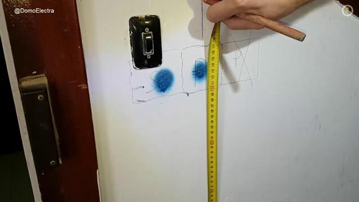 Medidas de tubos y cajas en reforma el ctrica parte 2 - Enchufes y interruptores ...