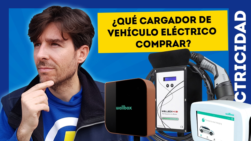 comprar cargador punto recarga vehiculo electrico coche