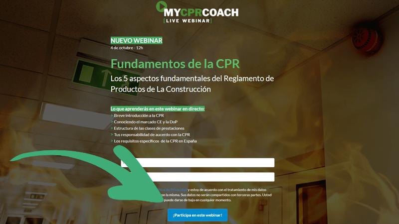 Registro Webinar-my CPR coeach normativa cp3