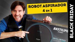 Robot Aspirador 4-en-1